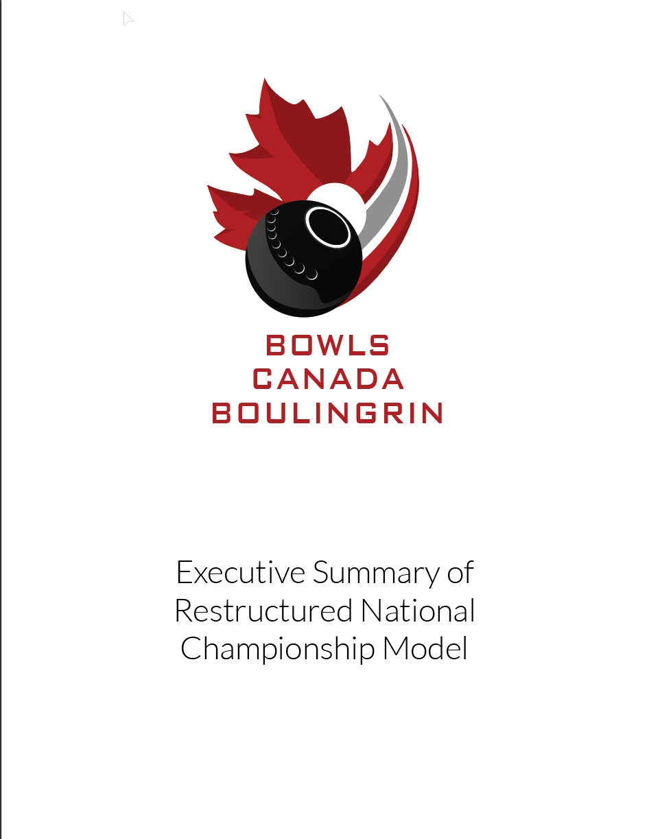 executive summary of restructured national championship model